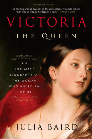 The cover of the book Victoria: The Queen