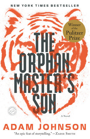 The cover of the book The Orphan Master's Son
