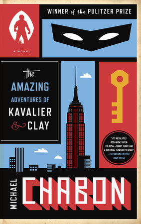 The cover of the book The Amazing Adventures of Kavalier & Clay (with bonus content)