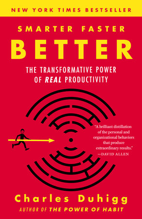 The cover of the book Smarter Faster Better