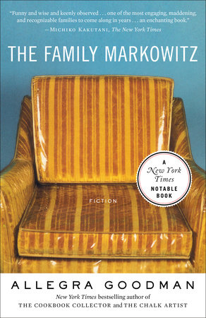The cover of the book The Family Markowitz