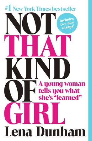 Not That Kind of Girl Book Cover Picture