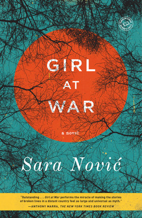The cover of the book Girl at War