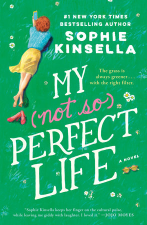 The cover of the book My Not So Perfect Life