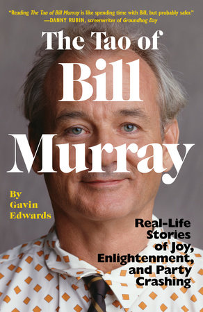 The cover of the book The Tao of Bill Murray