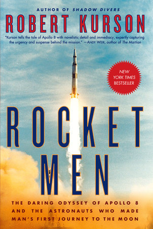 The cover of the book Rocket Men