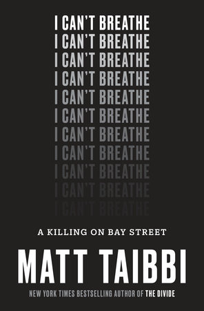 The cover of the book I Can't Breathe
