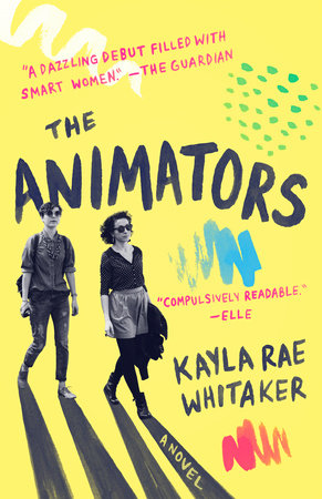 The cover of the book The Animators