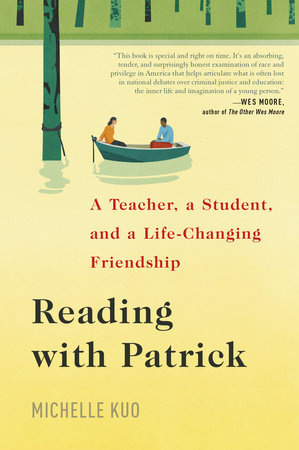 The cover of the book Reading with Patrick