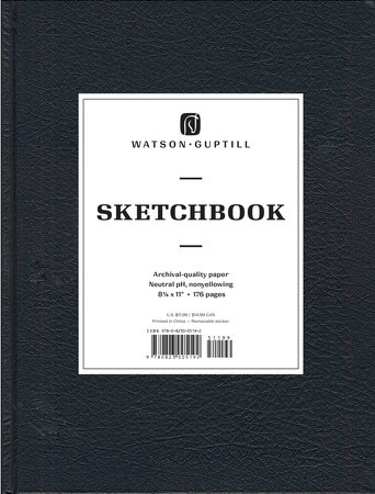 Large Sketchbook (Kivar, Black) by Watson-Guptill
