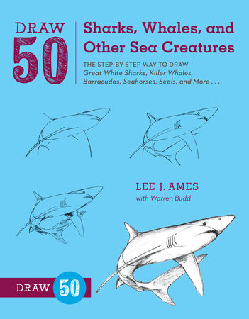 Draw 50 Sharks, Whales, and Other Sea Creatures by Lee J. Ames and Warren Budd