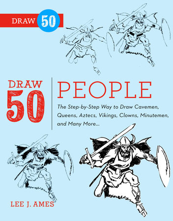 Draw 50 People by Lee J. Ames and Creig Flessel