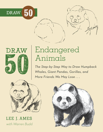 Draw 50 Endangered Animals by Lee J. Ames and Warren Budd