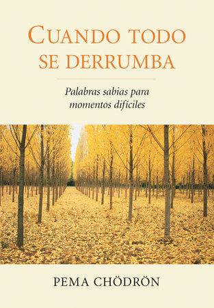 Cuando todo se derrumba (When Things Fall Apart) by Pema Chodron