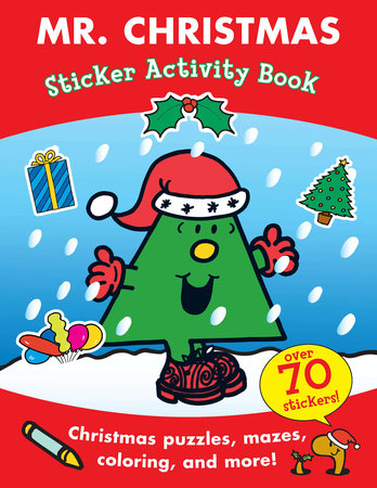 Mr. Christmas Sticker Activity Book by Roger Hargreaves