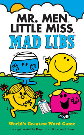 Mr. Men Little Miss Mad Libs by