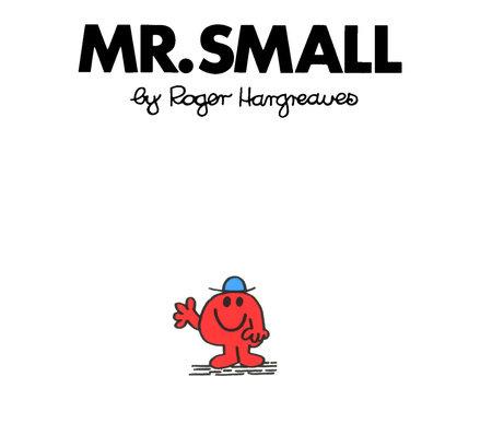 Mr Men Small
