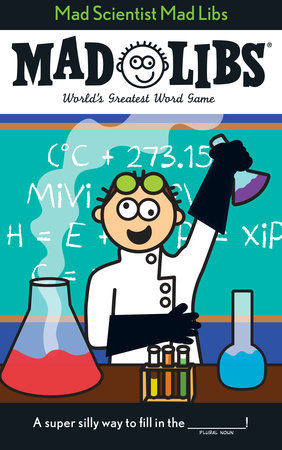 Mad Scientist Mad Libs by Price Stern Sloan