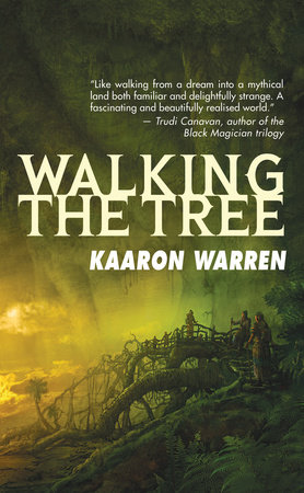 The cover of the book Walking the Tree