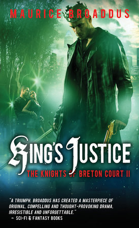 King's Justice by Maurice Broaddus