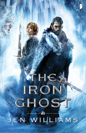 The cover of the book The Iron Ghost