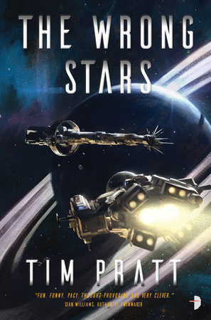 The cover of the book The Wrong Stars