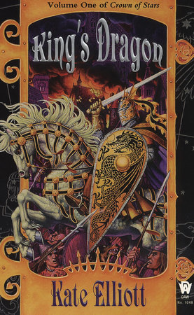 The cover of the book King's Dragon