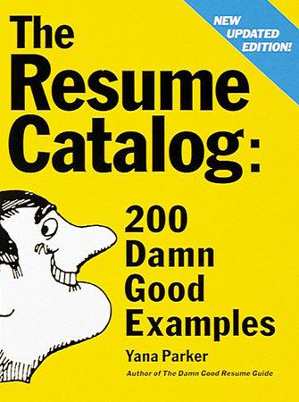 The Resume Catalog by Yana Parker