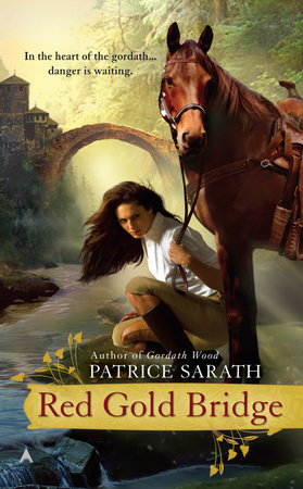 Red Gold Bridge by Patrice Sarath