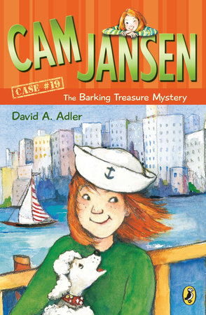 Cam Jansen: The Barking Treasure Mystery #19 by David A. Adler