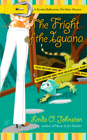 The Fright of the Iguana by Linda O. Johnston