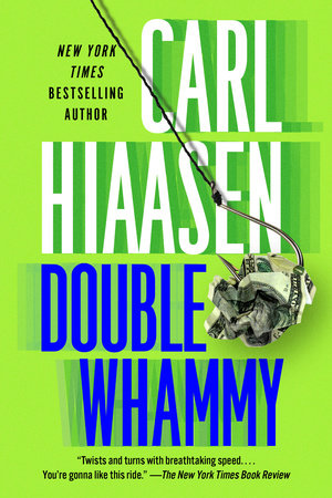 The cover of the book Double Whammy