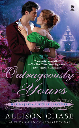 Outrageously Yours by Allison Chase