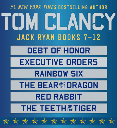 Tom Clancy's Jack Ryan Books 7-12