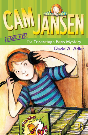 Cam Jansen: the Triceratops Pops Mystery #15 by David A. Adler