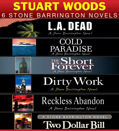 Stuart Woods 6 Stone Barrington Novels