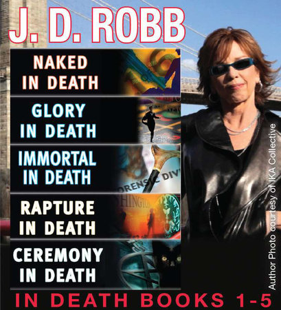 J. D. Robb In Death Collection Books 1-5 by J. D. Robb and Nora Roberts