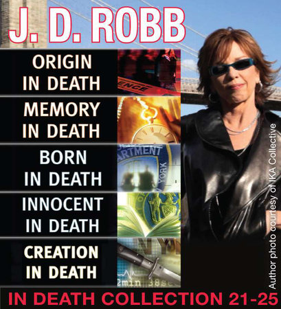 J.D. Robb IN DEATH COLLECTION books 21-25 by J. D. Robb