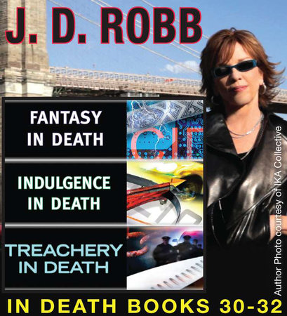 J.D Robb IN DEATH COLLECTION books 30-32 by J. D. Robb