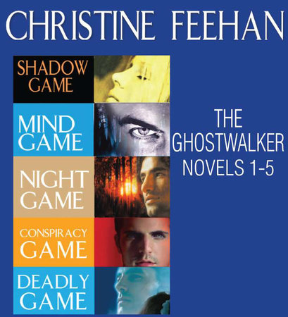 Christine Feehan Ghostwalkers novels 1-5 by Christine Feehan