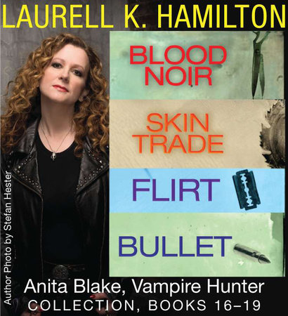 Laurell K. Hamilton's Anita Blake, Vampire Hunter collection 16-19