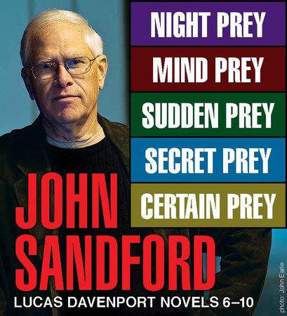 John Sandford Lucas Davenport Novels 6-10 by John Sandford