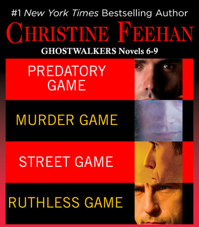 Christine Feehan Ghostwalkers Novels 6-9 by Christine Feehan