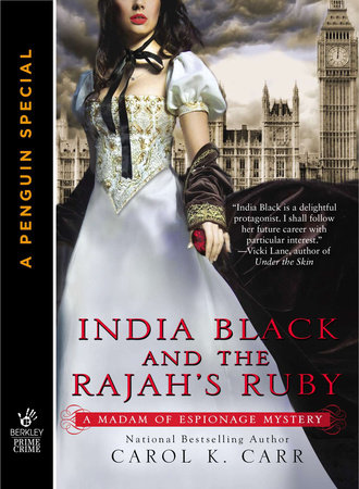 India Black and the Rajah's Ruby by Carol K. Carr