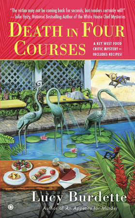 Death in Four Courses by Lucy Burdette