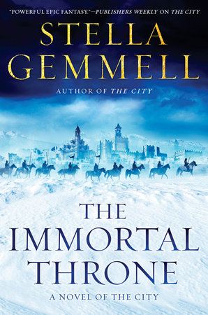 The Immortal Throne by Stella Gemmell