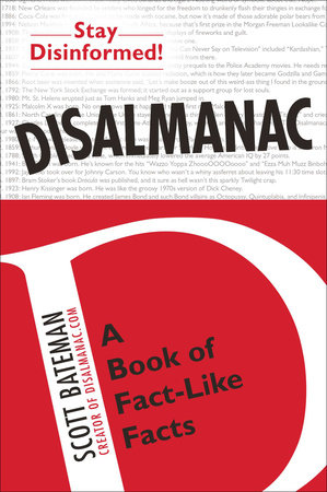 Disalmanac by Scott Bateman