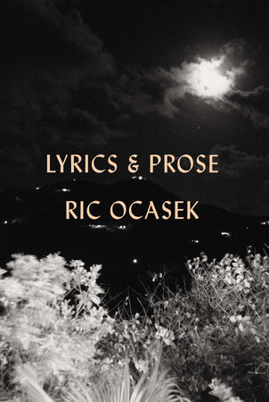 Lyrics & Prose by Ric Ocasek