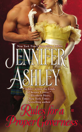 Rules for a Proper Governess by Jennifer Ashley