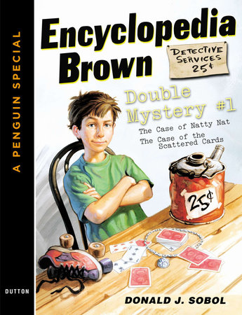 Encyclopedia Brown Double Mystery #1 by Donald J. Sobol